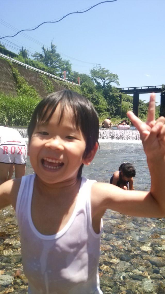 夏だよ♪川遊び★