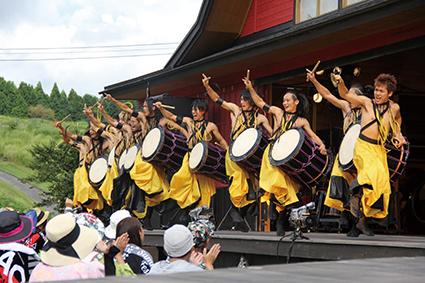 くじゅう高原×DRUM TAO『SUMMER FESTIVAL』