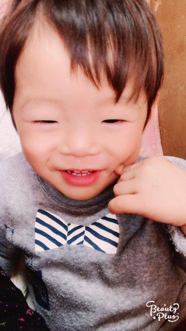 2歳になりました♡たつき(^∇^)
