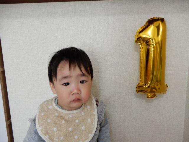 叶翔、1歳おめでとう♡