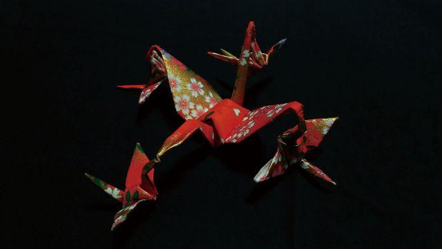 安井辰江 作 「折り紙展」