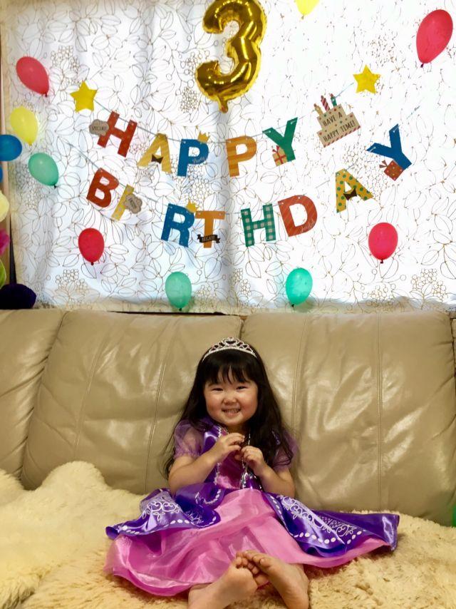3歳おめでとう!