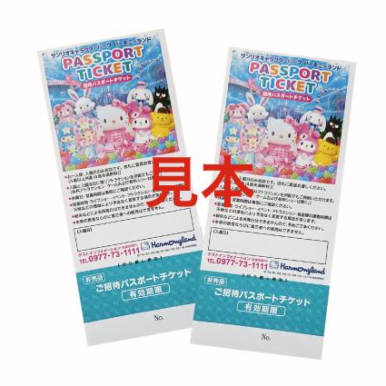 パスポート チケット