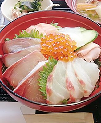 海鮮丼と浜汁のランチお食事券