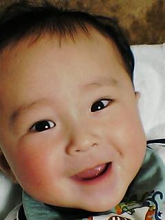 涼太、6ヶ月でちゅ。