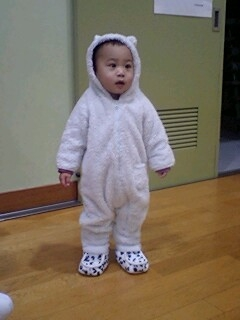 中津で水色の熊発見〓...